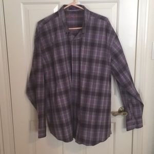 Men's xxl 100 percent cotton button down shirt.